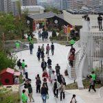 JRおおいたシティ屋上庭園-01